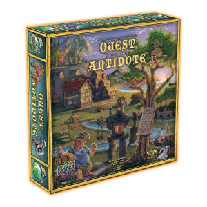 Upper Deck Quest for the Antidote an Original Game (163 Piece)