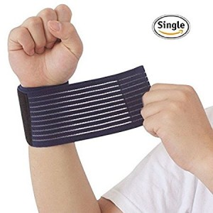 Wrist support by Umbrella Men and Women 1Pcs for Work out and Fitness, Weight Lifting, Pain relief and Recovery, Perfect for Carpal Tunnel and Sprains.
