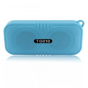 Ellecan Portable Wireless Speaker, Support Phone/Laptop/TF Card/FM Mode, Big and Clear Sound,Enhanced bass,Intelligent Noise Reduction,HD Hands-Free Call,33ft Barrier-Free Connection Distance-Blue