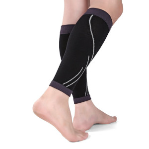 Calf Compression Sleeve - Calf Brace - Leg Compression Socks for Helps Shin Splint with Men, Women and Runners - Calf Guard for Running, Cycling, Maternity, Travel, Nurses