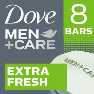 Dove Men+Care Body and Face Bar Extra Fresh
