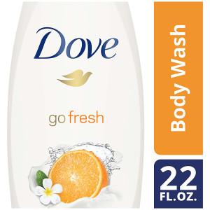Dove go fresh Revitalize Body Wash Mandarin & Tiare Flower