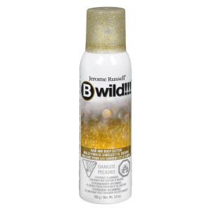 B-Wild B Wild Hair & Body Glitter Spray Gold & Silver