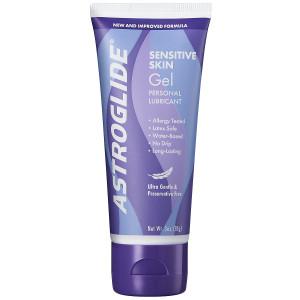 Astroglide Sensitive Skin Ultra Gentle Gel Personal Lubricant Sensitive