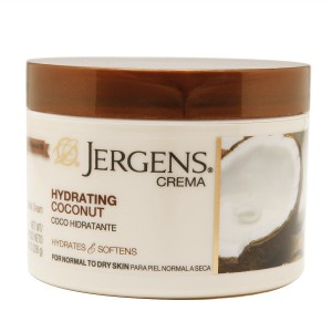 Jergens Crema Body Cream Hydrating Coconut