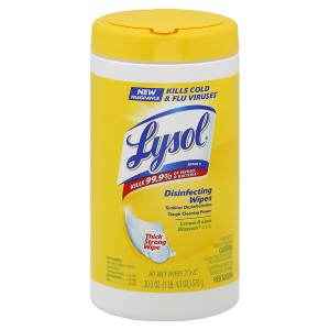 Lysol 4 in 1 Disinfecting Wipes Citrus