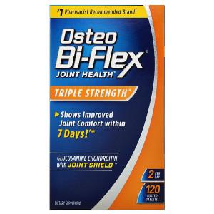 Osteo Bi-Flex Advanced Triple Strength Glucosamine Chondroitin MSM with 5-Loxin, Tablets