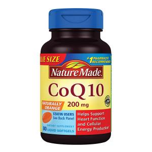 Nature Made CoQ10 200 mg Dietary Supplement Liquid Softgels