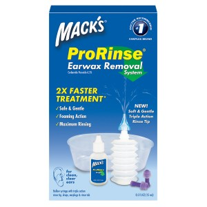 Mack's Pro Rinse Earwax Removal Kit