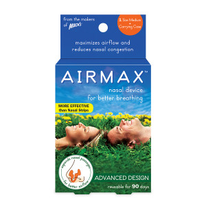 Mack's Airmax Nasal Device for Better Breathing Medium