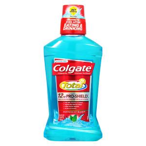 Colgate Total Advanced Pro-Shield Mouthwash Peppermint Blast