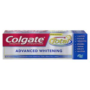 Colgate Total Advanced Whitening Anticavity Fluoride and Antigingivitis Toothpaste