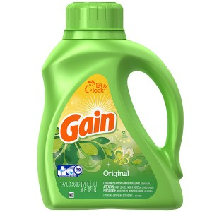 Gain Laundry Detergent Liquid Original
