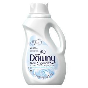 Downy Liquid Fabric Softener, Free & Gentle