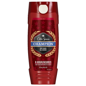 Old Spice Red Zone Men's Body Wash Champion