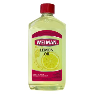 Weiman Lemon Oil Furniture Polish Lemon
