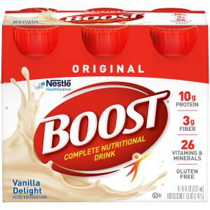 Boost Original, Complete Nutritional Drink Very Vanilla