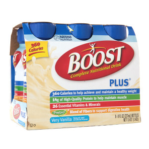 Boost Complete Nutritional Drink Vanilla Delight