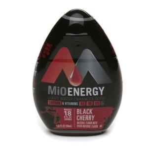 MiO Energy Liquid Water Enhancer Black Cherry