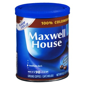 Maxwell House Ground Coffee Colombian Supreme