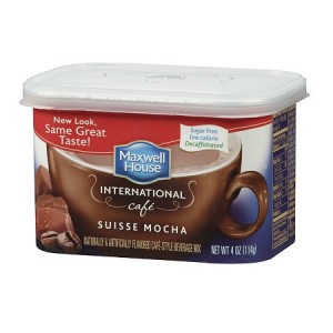 Maxwell House Style Beverage Mix, Decaffeinated & Sugar Free Suisse Mocha