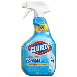 Clorox Bleach Foamer for the Bathroom