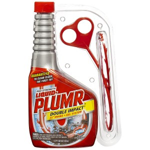 Liquid-Plumr Pro-Strength Clog Remover Double Impact, Snake + Gel System