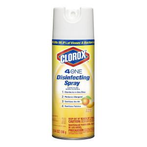 Clorox 4 In 1 Disinfectant Spray Citrus