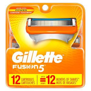 Gillette Fusion 5 Mens Razor Blades