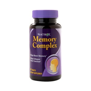 Natrol Memory Complex Dietary Supplement Tablets