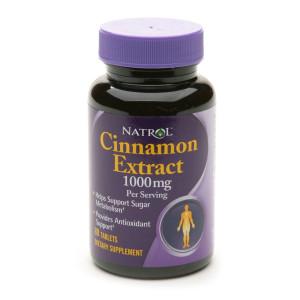 Natrol Cinnamon Extract, 1000mg, Tablets