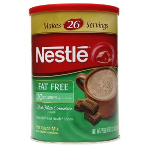 Nestle Hot Cocoa Fat Free Canister