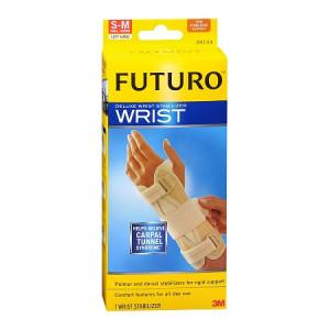 FUTURO Deluxe Wrist Stabilizer, Left Hand