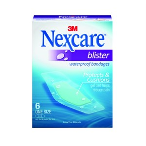 Nexcare Blister Bandages, One Size One Size