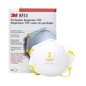 3M Particulate Respirator face mask , N95, R8511ES