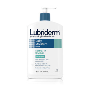 Lubriderm Lotion, Normal To Dry Skin Seriously Sensitive