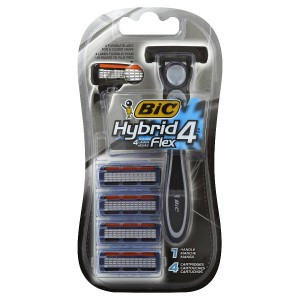BiC Hybrid 4 Advance For Men, Disposable 4-Blade System