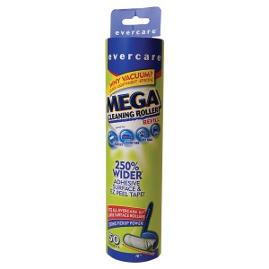 Evercare Mega Cleaning Roller Refill, 50 Sheets