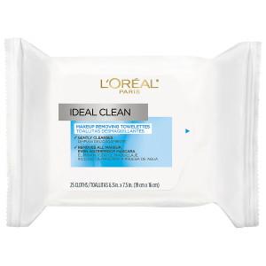 L'Oreal Paris Ideal Clean Makeup Removing Facial Towelettes