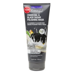 Freeman Feeling Beautiful Polishing Mask Charcoal & Black Sugar