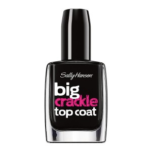Sally Hansen Big Top Coat Treatment Crackle - Black On