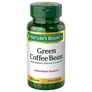 Nature's Bounty Green Coffee Bean with Raspberry Ketones & Green Tea, Capsules