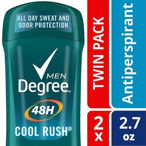 Degree Men Dry Protection Deodorant Cool Rush, Twin Pack