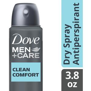 Dove Men+Care Dry Spray Antiperspirant Clean Comfort