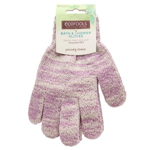 EcoTools Recycled Bath & Shower Gloves Assorted