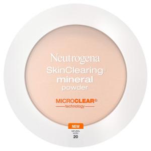 Neutrogena SkinClearing Mineral Powder,Natural Ivory