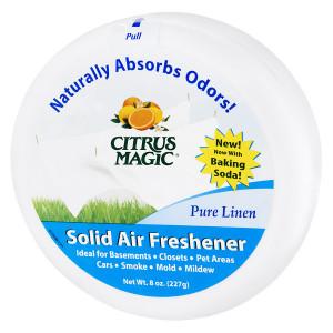 Citrus Magic Solid Air Freshener Linen Scent