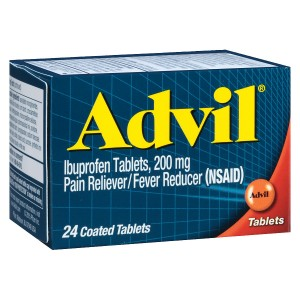 Advil Ibuprofen Pain Reliever & Fever Reducer Tablets