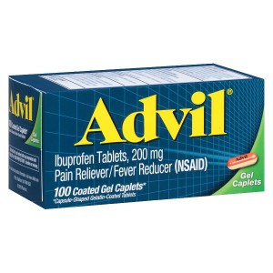 Advil Ibuprofen Pain Reliever & Fever Reducer Gel Caplets