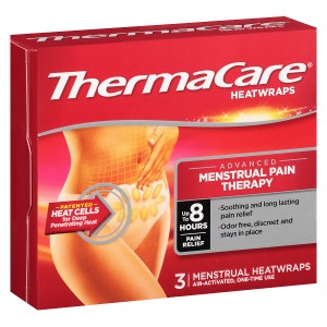 ThermaCare Heatwraps Advanced Menstrual Pain Relief Therapy